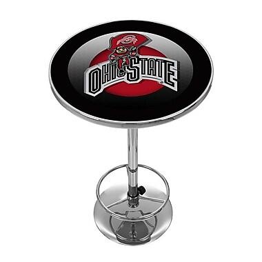 Ohio State Rushing Brutus Chrome Pub Table