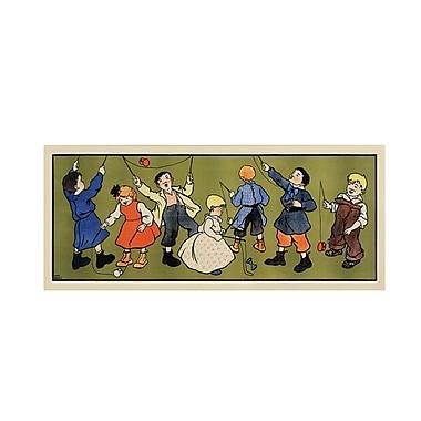 Trademark Fine Art 'Children's Panel - Boys'