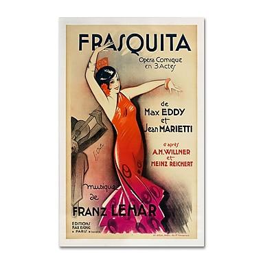 Trademark Fine Art 'Frasquita' 30