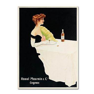 Trademark Fine Art 'Raoul Maurain and Co Cognac' 24