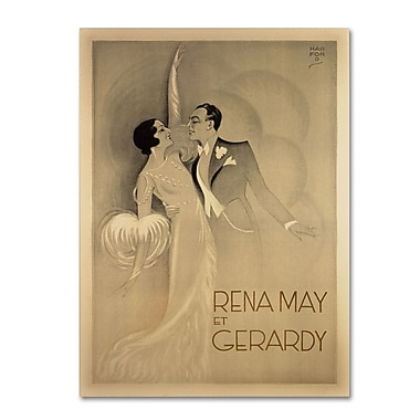 Trademark Fine Art 'Rena May Et Gerardy' 24