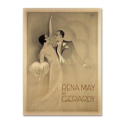 Trademark Fine Art 'Rena May Et Gerardy' 18