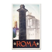"Trademark Fine Art 'Roma' 22"" x 32"" Canvas Art"