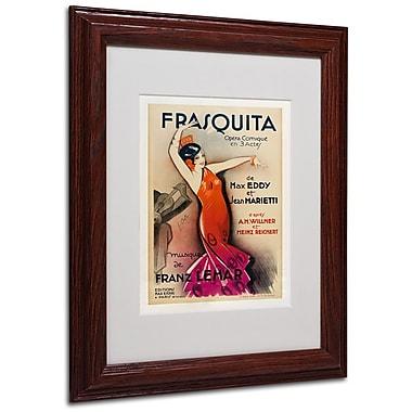 Trademark Fine Art 'Frasquita' 11
