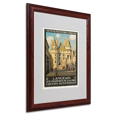 Trademark Fine Art 'Les Chateaux de la Langeais' 16