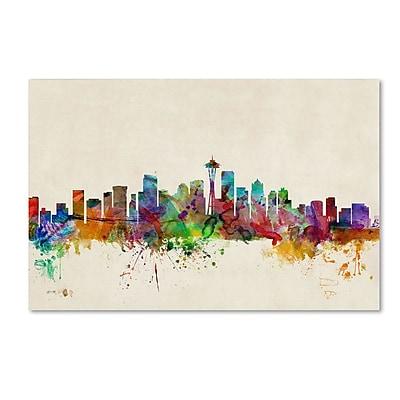 Trademark Fine Art 'Seattle, Washington' 30