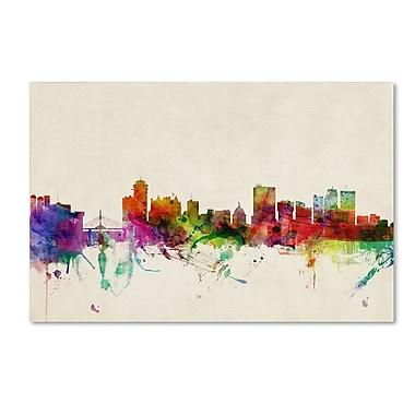 Trademark Fine Art 'Winnipeg, Canada' 22