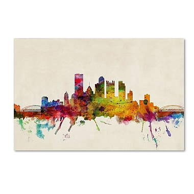 Trademark Fine Art 'Pittsburgh, Pennsylvania' 30