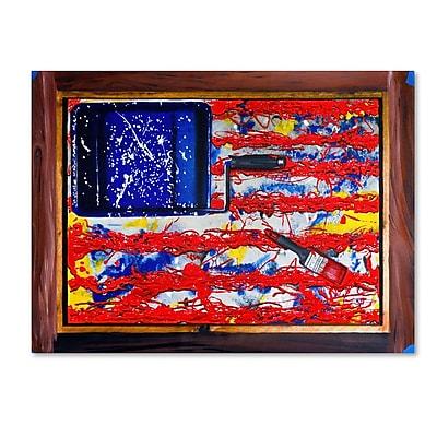 Trademark Fine Art 'American Paint' 14