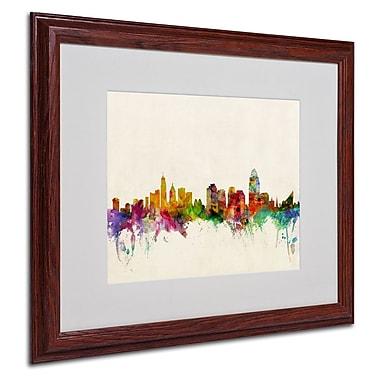 Trademark Fine Art 'Cincinnati, Ohio' 16