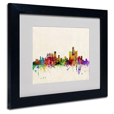 Trademark Fine Art 'Detroit, Michigan' 11