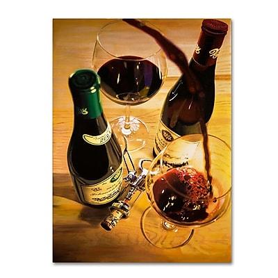 Trademark Fine Art 'Second Pour' 14