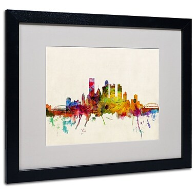 Trademark Fine Art 'Pittsburgh, Pennsylvania' 16