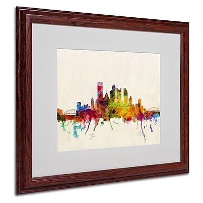 Trademark Fine Art 'Pittsburgh, PA' 16