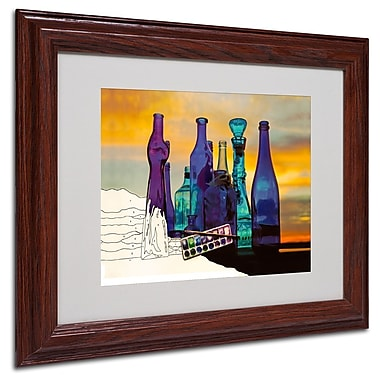 Trademark Fine Art 'Blue Sunset By Numbers' 11