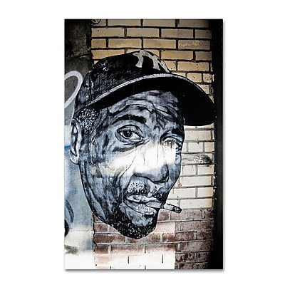 Trademark Fine Art 'Hiphop Yankee Fan Pop ' 22