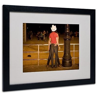 Trademark Fine Art 'Brooklyn Cowboy' 16