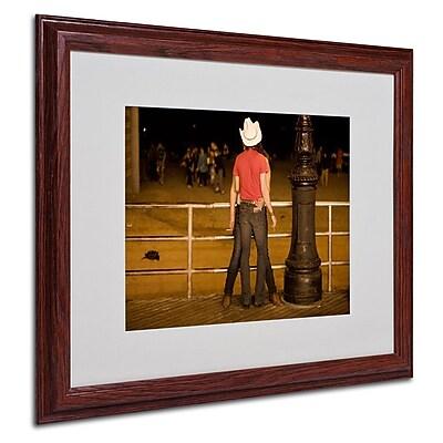 Trademark Fine Art 'Brooklyn Cowboy' 16