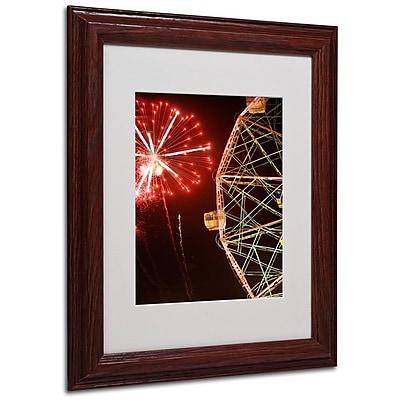 Trademark Fine Art 'Coney Island Fireworks' 11