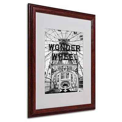 Trademark Fine Art 'Coney Island Wonder Wheel' 16