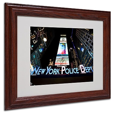 Trademark Fine Art 'NYPD In Blue Neon' 11