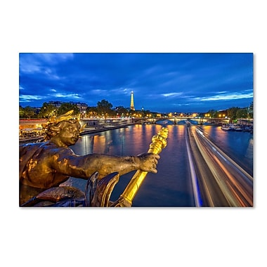 Trademark Fine Art 'Alexander Bdg Paris'