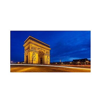 Trademark Fine Art 'Arc de Triomphe' 12