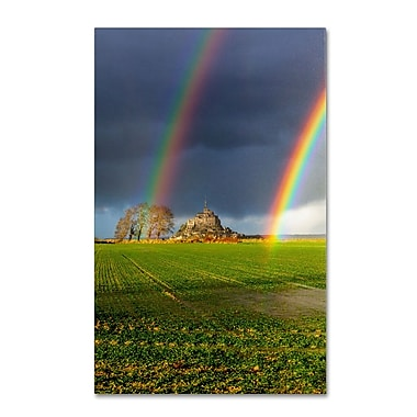 Trademark Fine Art 'Double Rainbow'