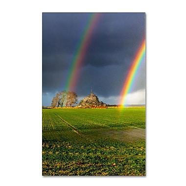 Trademark Fine Art 'Double Rainbow' 22