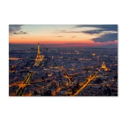 Trademark Fine Art 'From Roofs of Paris'