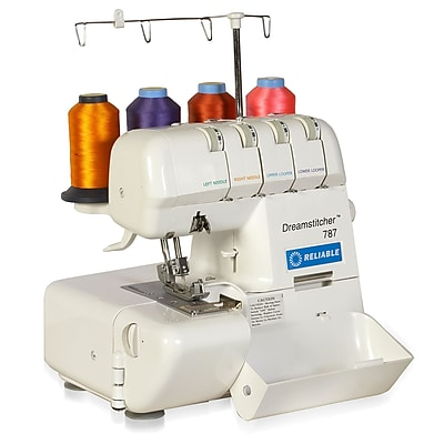 Reliable Portable Thread Overlock Dreamstitcher REL787 White