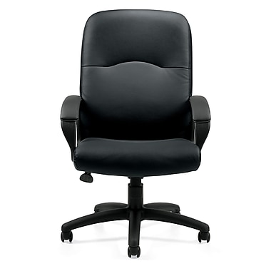 Offices To Go® Woodbridge High Back Tilter Office Chair, Black