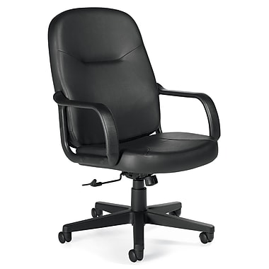 Offices To Go® Annapolis High Back Tilter Office Chair, Black