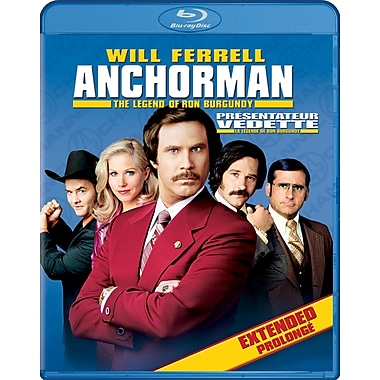 Anchorman: The Legend of Ron Burgundy (Blu-Ray)