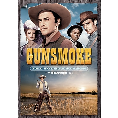 Gunsmoke: The Fourth Season, Volume One (DVD)