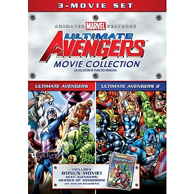 The Avengers Triple Feature (DVD)