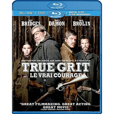 True Grit (2010) (Blu-Ray + DVD + Digital Copy)