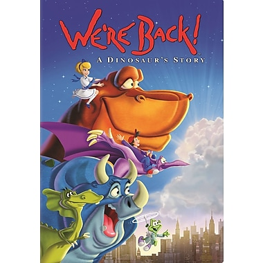 We're Back: A Dinosaur's Storoy (DVD)