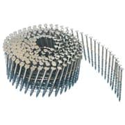 Crisp-Air - Clous en bobine, galvanisés brillant, patte de 2 po x calibre 0,99, calibre 15, paq./7 200