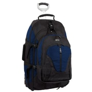 "J World Dickens 26"" Rolling Backpack, 15.4"" Laptop, Navy"