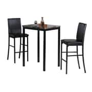 Hazelwood Home 3 Piece Bistro Set