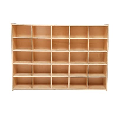 Wood Designs™ Contender™ Fully Assembled 25 Tray Storage Without Trays, Baltic Birch