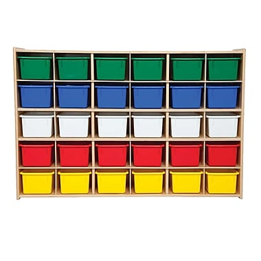 Wood Designs™ Contender™ 30 Tray Storage With Assorted Trays, Baltic Birch
