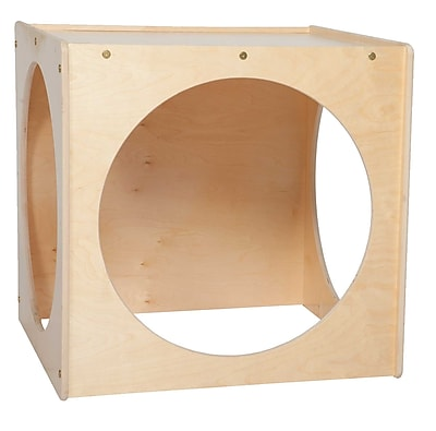 Wood Designs™ Contender Giant Crawl Through Play Cube