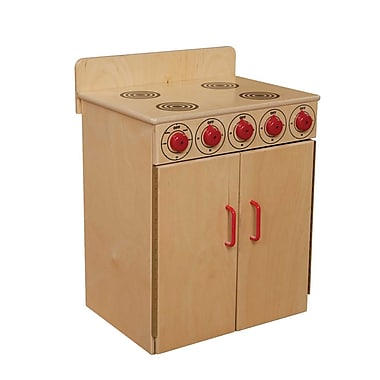 Wood Designs™ Dramatic Play Plywood Stove, Birch