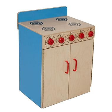 Wood Designs™ Dramatic Play Plywood Stove, Blueberry