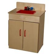 Wood Designs™ Dramatic Play Plywood Sink, Birch
