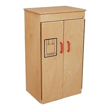 Wood Designs™ Dramatic Play Plywood Refrigerator, Birch