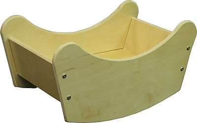 Wood Designs Doll Cradle, Birch