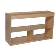 """Wood Designs™ Storage 24""""H Math/Language Cabinet, Birch"""
